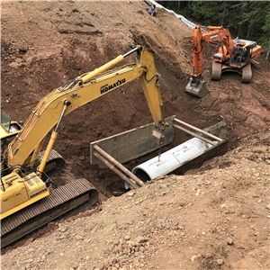 Repairs to a Culvert Located on 2e Rang Est – Caplan