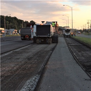 Levelling, Asphalting, Marking and Other Work, Charest Highway (Highway 440) – MTQ