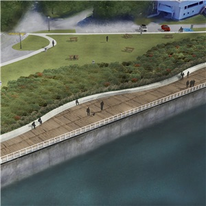 Professional services – inspection of the Pointe-Benson Quay retaining wall and development of a nature park – Lévis